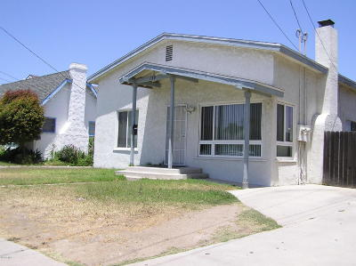 Santa Paula Multi Family Home For Sale: 139 S 4th Street