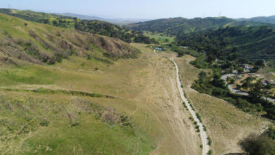 Santa Paula Residential Lots & Land For Sale: 4104 Wheeler Canyon Road