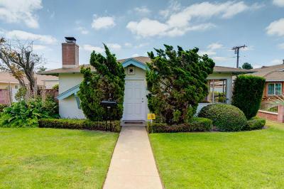 Oxnard Single Family Home For Sale: 468 Street