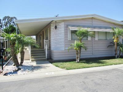 Santa Paula  Mobile Home For Sale: 500 W Santa Maria Street #113