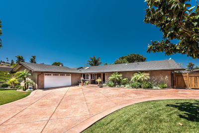 Camarillo Single Family Home For Sale: 1627 Riente Street