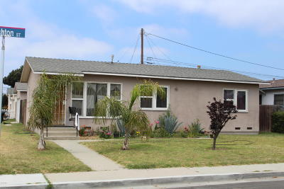 Oxnard Single Family Home For Sale: 215 Ashton Street
