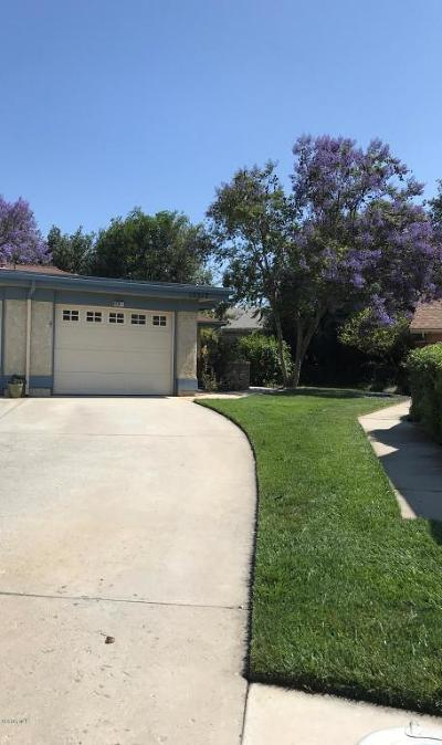 Camarillo Single Family Home Active Under Contract: 15317 Village 15