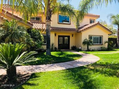 Camarillo Single Family Home For Sale: 401 W Loop Drive