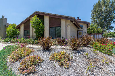 Camarillo Single Family Home Active Under Contract: 452 Sobre Colinas Place