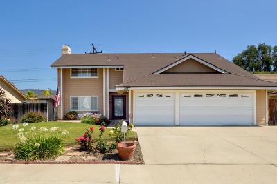 Camarillo Single Family Home For Sale: 3877 Olivo Court