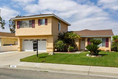 Santa Paula Single Family Home Active Under Contract: 356 Peralta Street