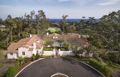 Santa Barbara Single Family Home For Sale: 841 Cima Linda Lane