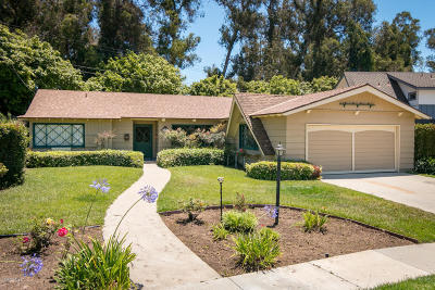 Ventura Single Family Home Active Under Contract: 5438 Byron Avenue
