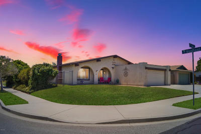 Oxnard Single Family Home Active Under Contract: 3310 Net Place