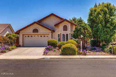 Camarillo Single Family Home Active Under Contract: 6180 Fremont Circle