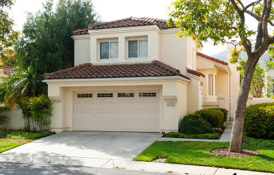 Camarillo Single Family Home For Sale: 818 Vista Arriago