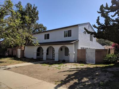 Santa Paula Multi Family Home Active Under Contract: 1142 Ojai Road