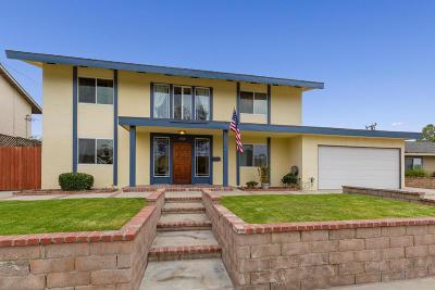 Camarillo Single Family Home For Sale: 3929 Vincente Avenue