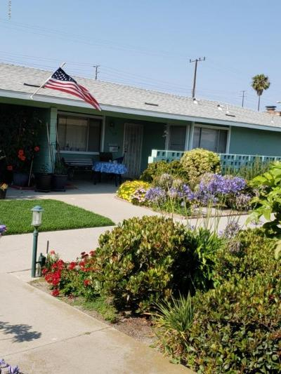 Port Hueneme Single Family Home Active Under Contract: 177 E Garden Green