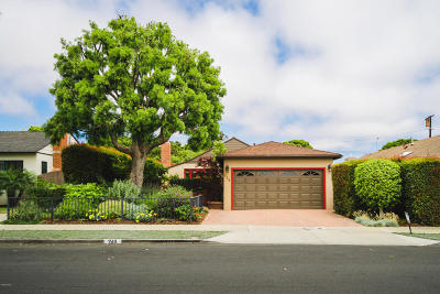 Ventura Single Family Home Active Under Contract: 246 Eugenia Drive