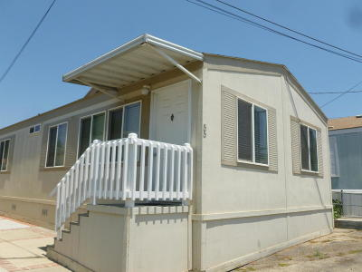 Ventura Mobile Home For Sale: 55 Magnolia Drive #55