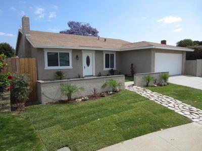 Camarillo Single Family Home For Sale: 131 W Calle La Guerra