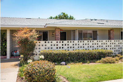 Port Hueneme Single Family Home Active Under Contract: 132 E Bowling Green