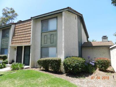 Santa Paula Single Family Home For Sale: 118 E Ventura Street #H