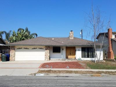 Ventura Single Family Home Active Under Contract: 1780 Pelican Avenue