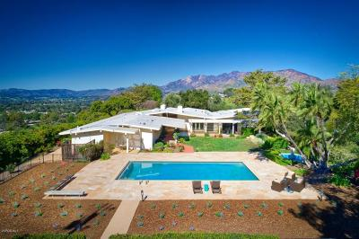Ojai Single Family Home For Sale: 1071 Rancho Drive