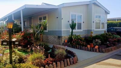 Oxnard Mobile Home For Sale: 126 Benicia Way #181