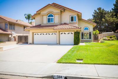 Camarillo Single Family Home Active Under Contract: 5114 Via Cupertino