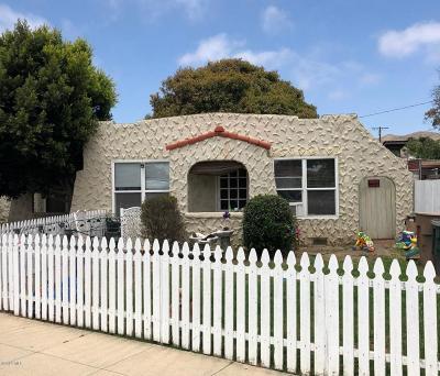 Ventura Multi Family Home For Sale: 1943 Channel Drive