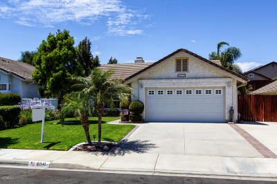 Camarillo Single Family Home For Sale: 6041 Tahoe Place