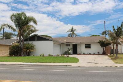 Oxnard Single Family Home For Sale: 3510 S C Street