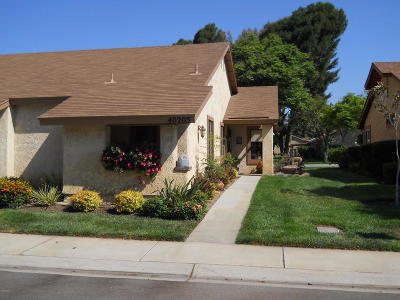 Camarillo Single Family Home Active Under Contract: 40203 Village 40