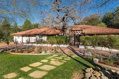 Westlake Village Single Family Home For Sale: 4090 Cresthaven Drive