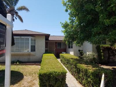 Oxnard Single Family Home For Sale: 918 W Juniper Street