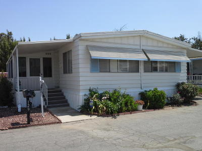 Ventura County Mobile Home Active Under Contract: 4388 Central Avenue #129