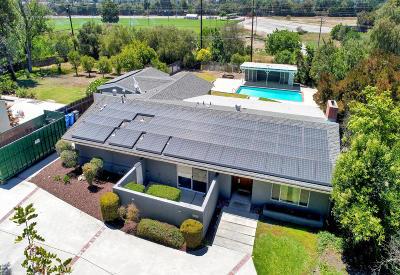 Thousand Oaks Single Family Home For Sale: 1325 El Monte Drive