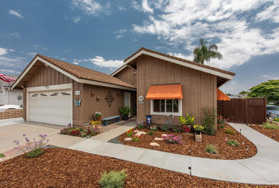 Camarillo Single Family Home For Sale: 908 Carissa Court