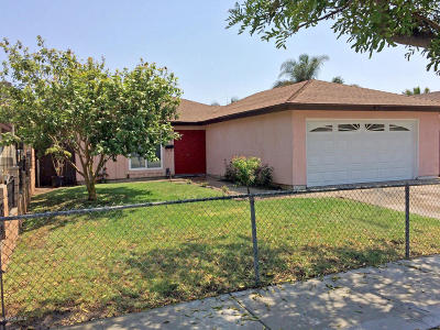 Oxnard Single Family Home For Sale: 1868 Lincoln Court