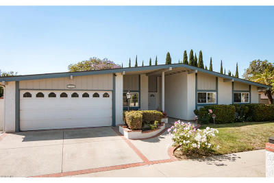 Ventura Single Family Home Active Under Contract: 10680 Modoc Street