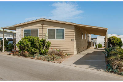 Oxnard Mobile Home Active Under Contract: 5540 W 5th Street #86