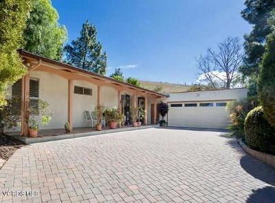 Thousand Oaks Single Family Home For Sale: 806 Crusoe Circle