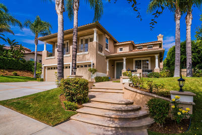 Thousand Oaks Single Family Home For Sale: 3302 Woodley Avenue