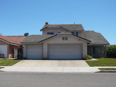 Oxnard Single Family Home Active Under Contract: 2112 Mistral Place