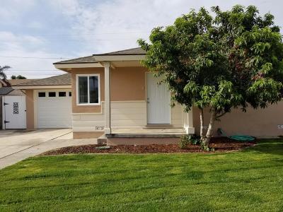 Oxnard Single Family Home For Sale: 344 E Juniper Street