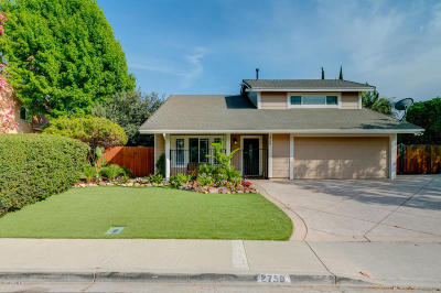 Camarillo Single Family Home Active Under Contract: 2758 Shalimar Street