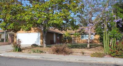 Oxnard Single Family Home For Sale: 3650 San Simeon Avenue
