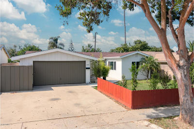 Ventura Single Family Home Active Under Contract: 4002 Madison Street