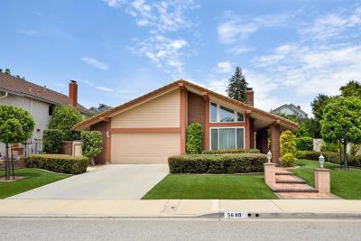 Camarillo Single Family Home For Sale: 5689 Mulberry Ridge Drive