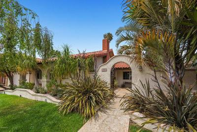 Camarillo Single Family Home For Sale: 3585 Stiles Avenue