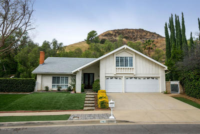 Calabasas Single Family Home For Sale: 27061 Esward Drive